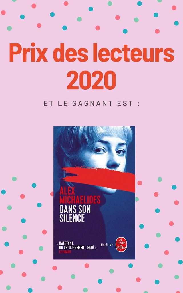 Livre lauréat du Prix des lecteurs 2020