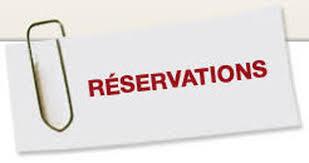 réservations
